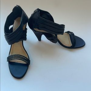 Levity Black Heels